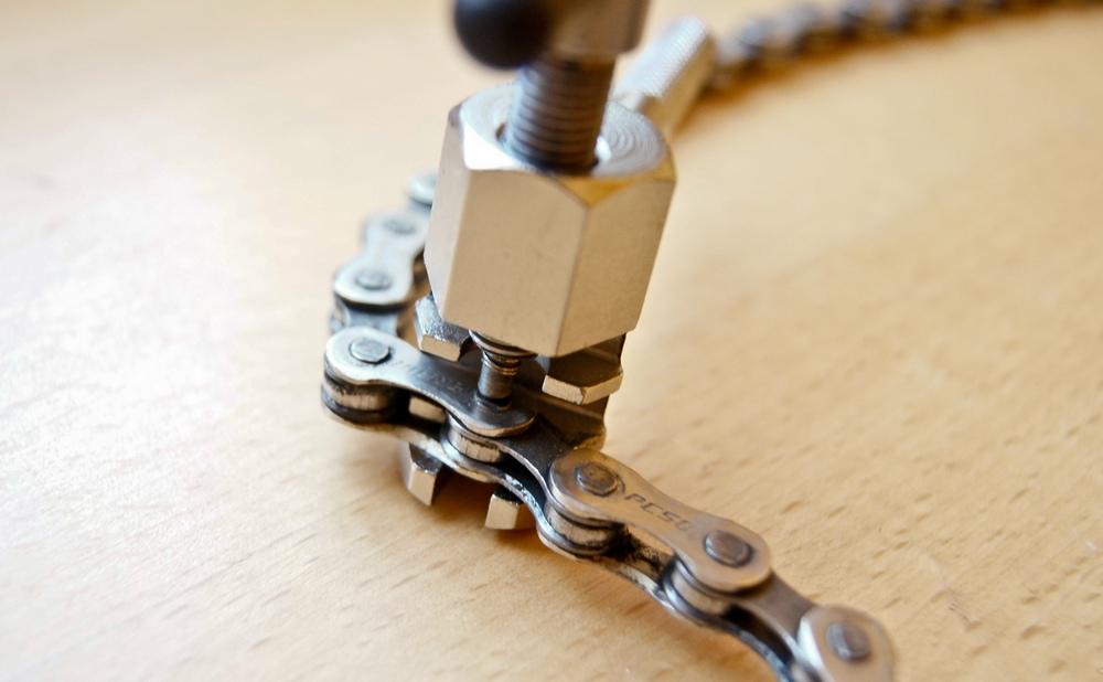 Positionner le dérive-chaîne