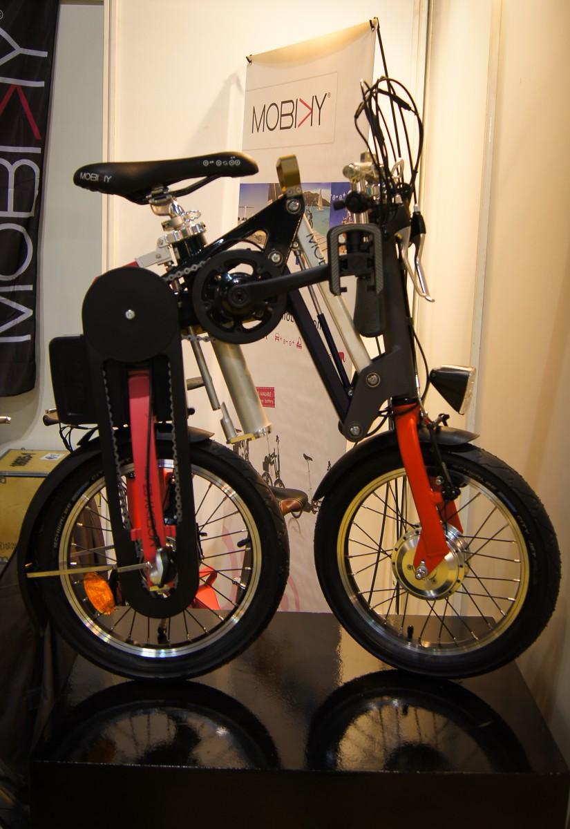 Vélo électrique-pliable