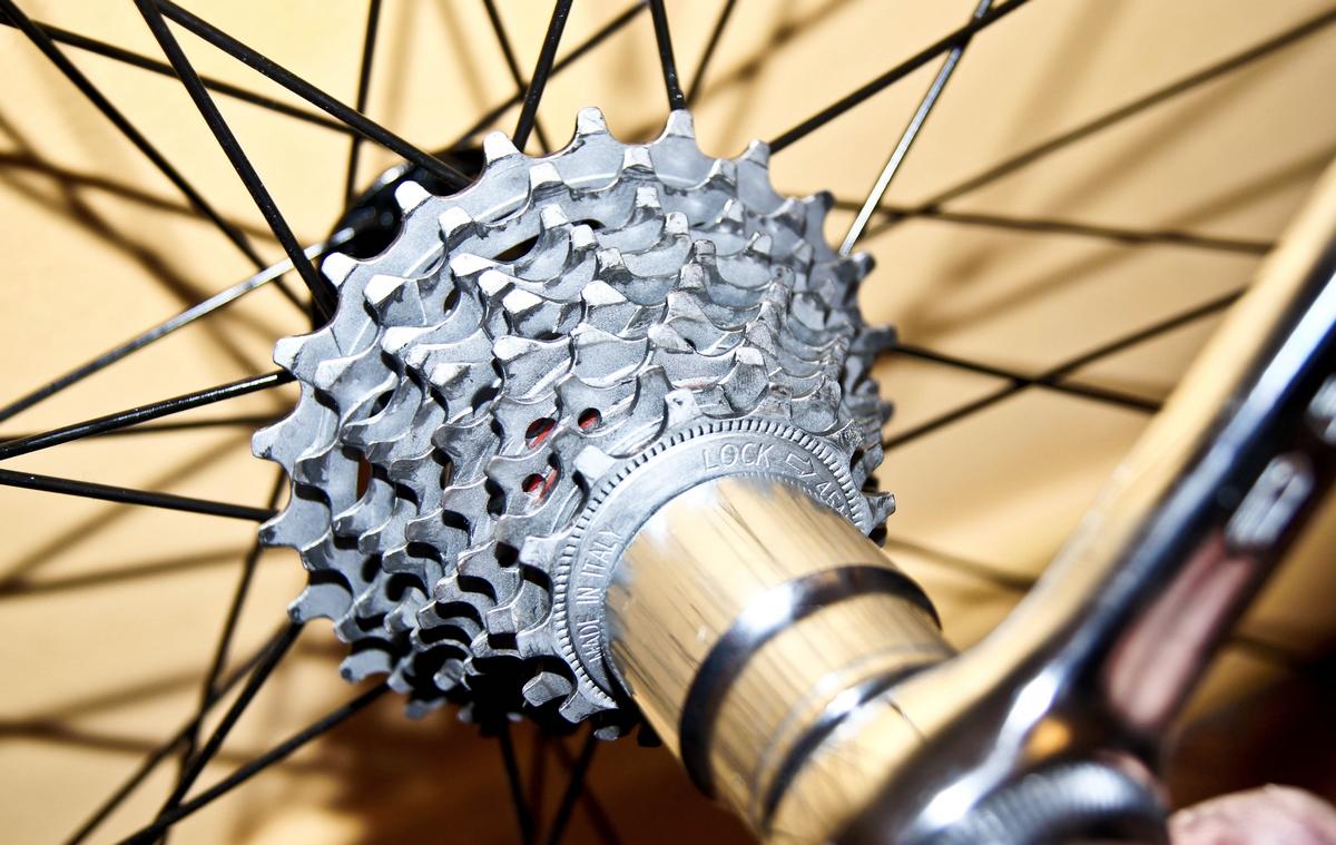 Démontage cassette de vélo