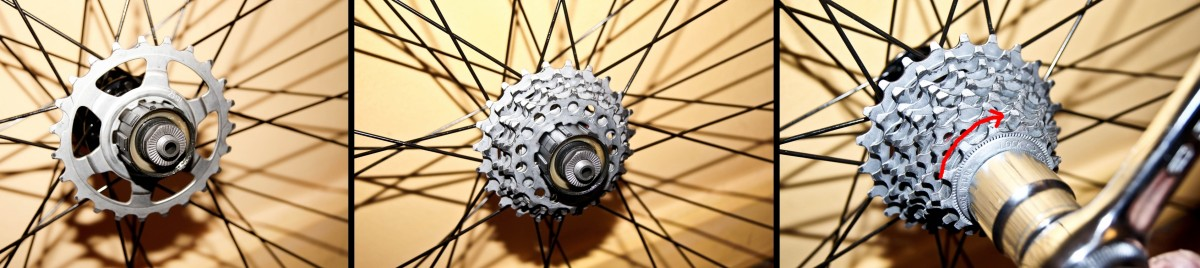 Remontage cassette de vélo