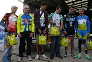 Podium course cycliste