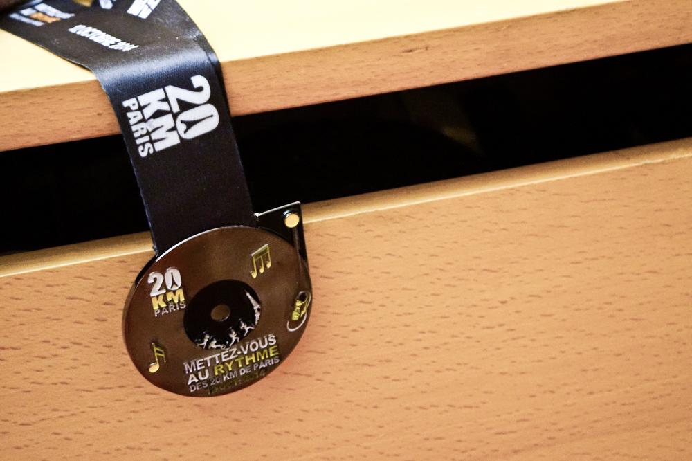 Médaille 20km de Paris