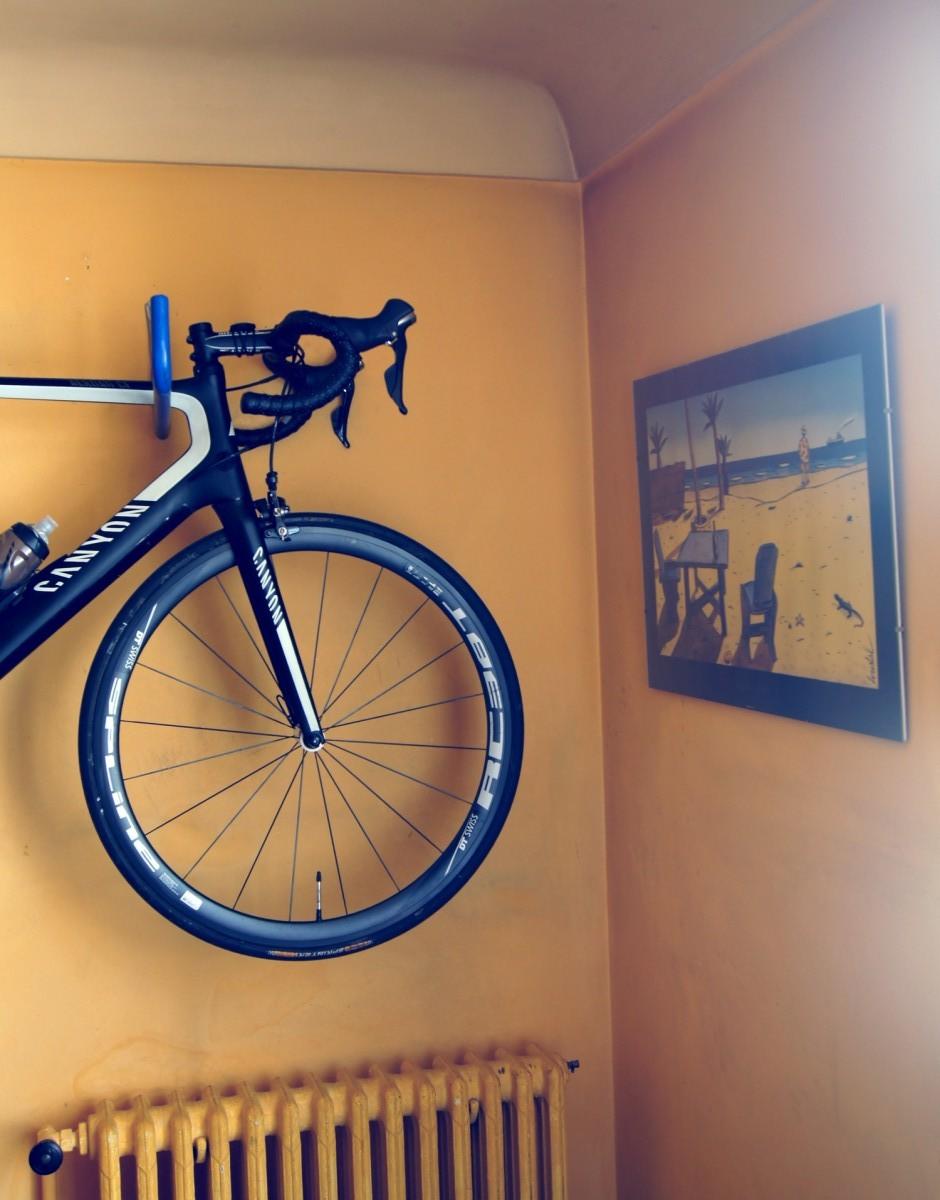 Vélo dans appartement