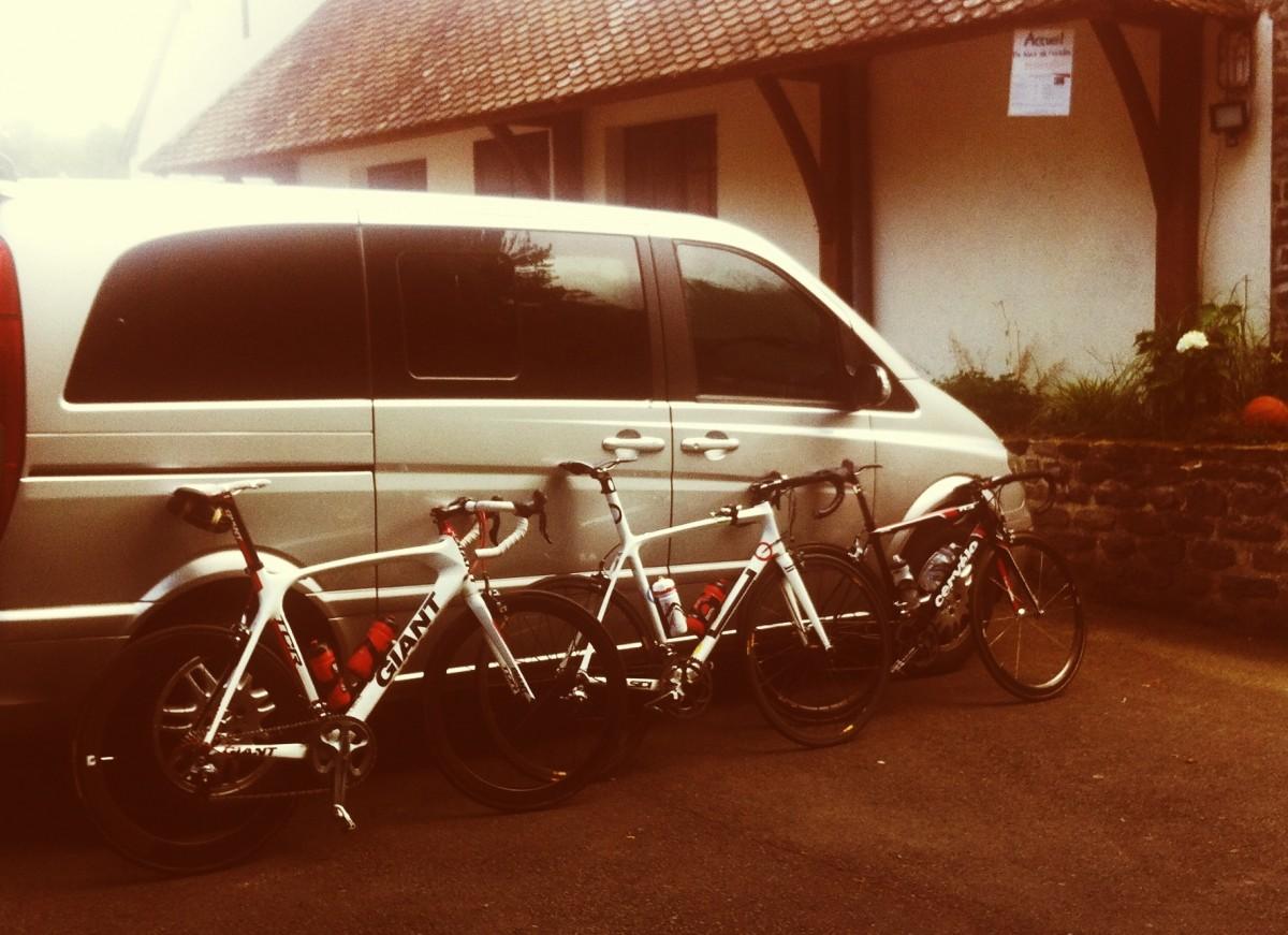 A vélo en Suisse Normande
