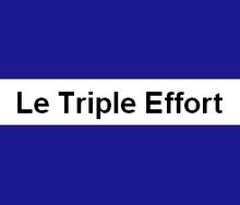 Le Triple Effort - Triathlon