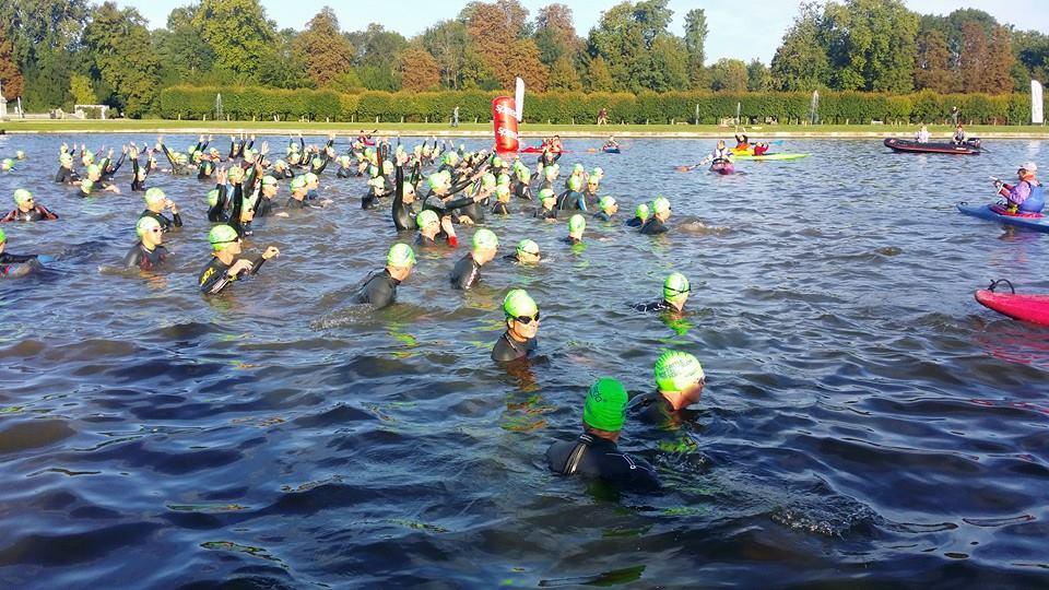 Natation Triathlon de Chantilly 2014