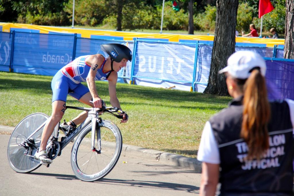 Yannick Bourseaux vélo