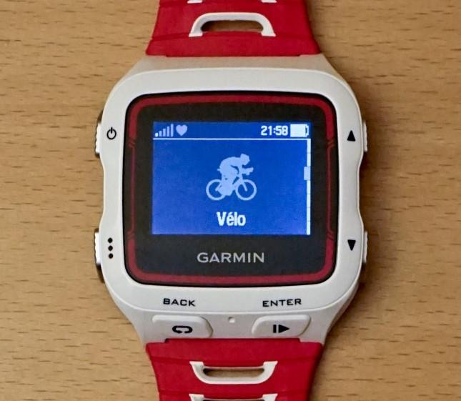 Ecran Garmin 920XT