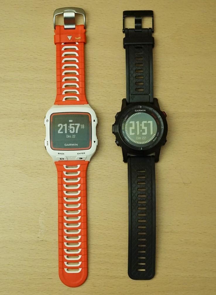 Garmin 920XT et Fénix 2