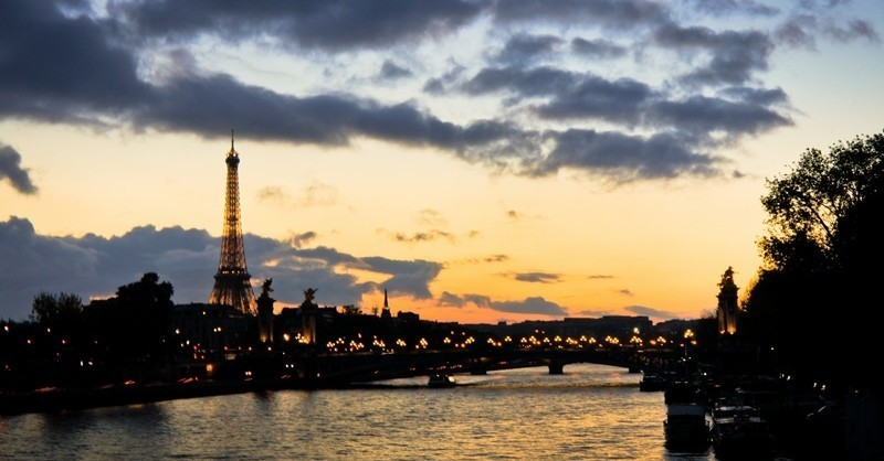Paris au lever du soleil
