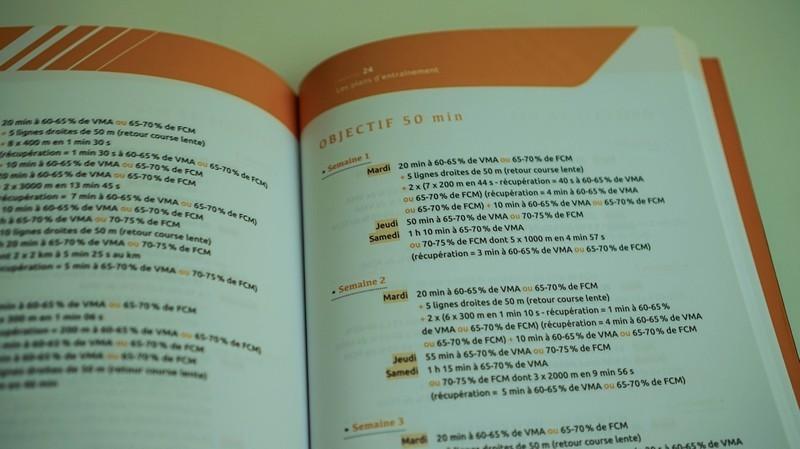 Plan La Bible du running