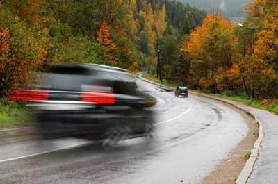 vitesse en voiture