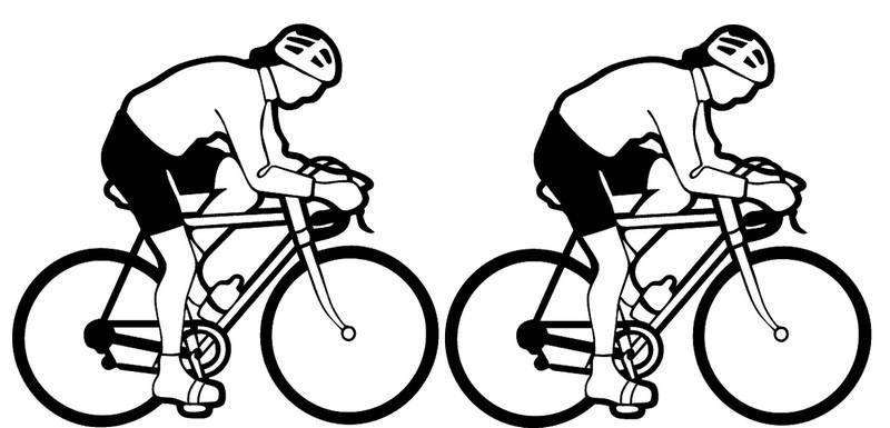 vélo dans les roues