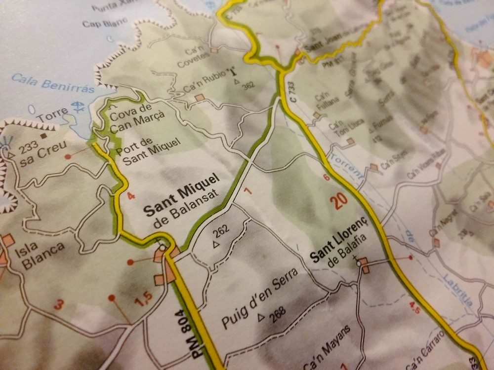 Routes carte Michelin