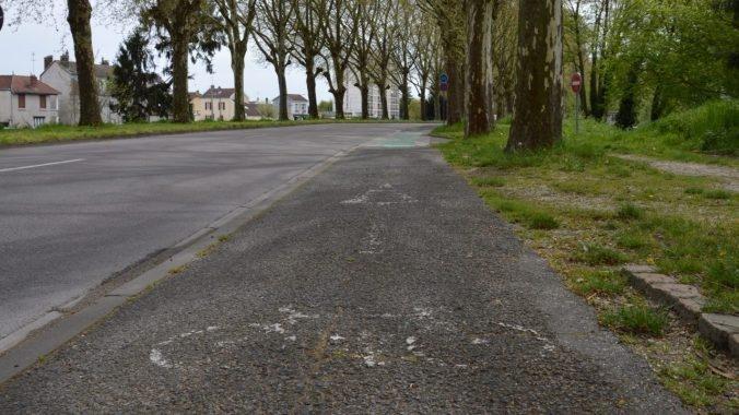 piste cyclable mauvais état