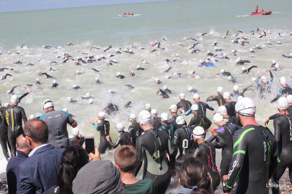 natation triathlon baie de somme