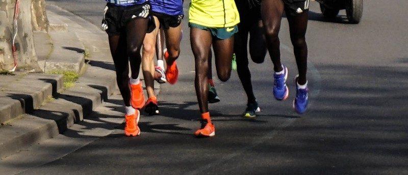 Vitesse moyenne en course à pied