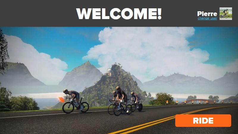 welcome zwift