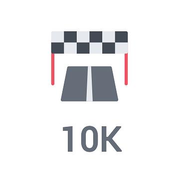 Plans d'entrainement pour le 10 kilomètres – Niveaux Débutant – 50 – 45 et 40 minutes